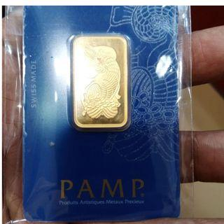 PAMP 24k-50g -(999.9) Purity -S$2860