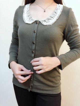 Cute collar cardigan outwear jacket #APR75 #OYOHOTEL