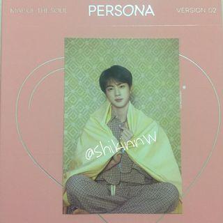 BTS Persona Postcard Seokjin
