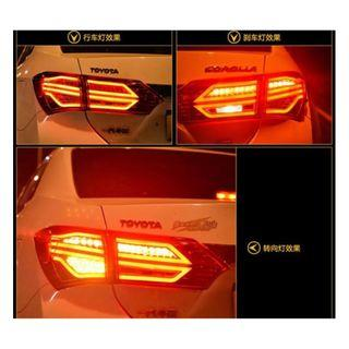 Toyota Altis 2104-2016 LED Tail Lamp