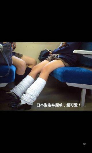 泡泡襪堆堆襪大象襪日系制服襪學生襪可cosplay可愛松垮襪原單