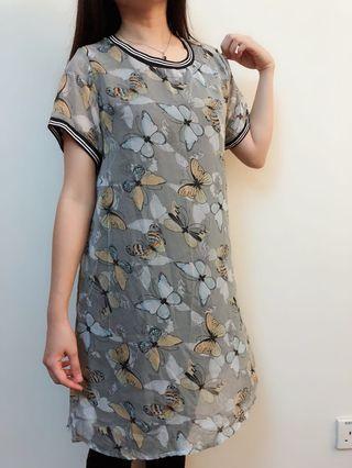 Pregnant women Chiffon Floral Tee Shirt Dress #APR75 #OYOHOTEL