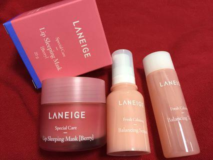 $18 MAILED!! Laneige Lip Sleeping Mask Set
