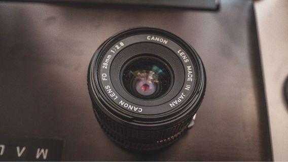 Canon FD 28mm 2.8 #CarouRaya