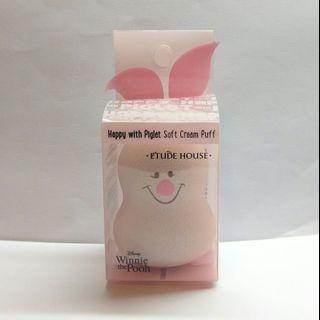 包郵Etude House Happy With Piglet Soft Cream Puff Blend makeup products #MTRkt