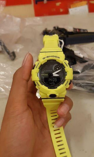 jam g shock GBA 800 YELLOW SE