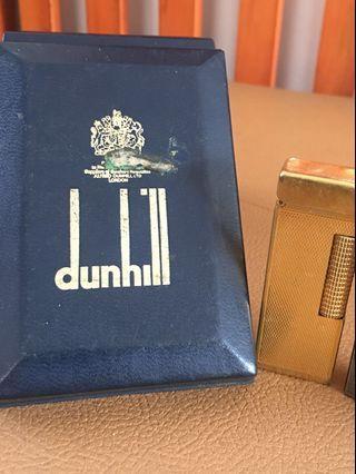 Swiss Dunhill Gold Platted Rollagas Lighter