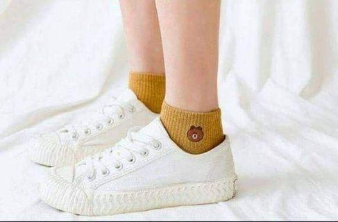 🚚 🐻韓版超爆款小熊襪(一袋10雙)