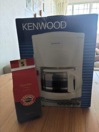 KENWOOD COFFEE MAKER with FREE VIETNAMESE COFFEE