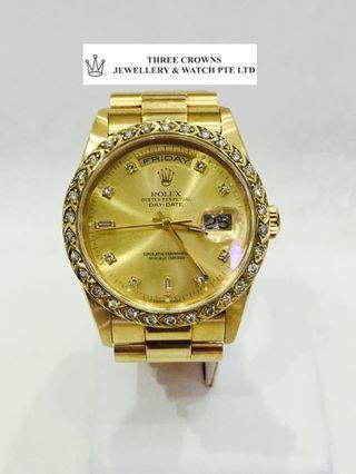 🚚 Rolex 18238