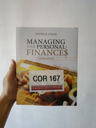 Managing your Personal Finance by Patrick Chan