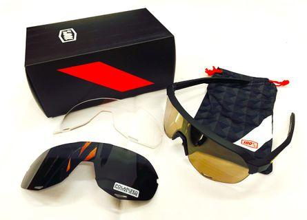Brand New 100% SpeedTrap S2 Sunglasses Set