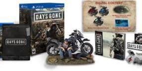 Days Gone Collector's Edition PS4 (No game)
