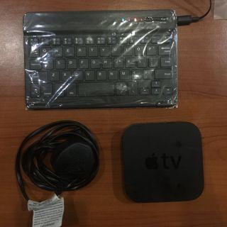 Apple TV 3 + Bluetooth keyboard