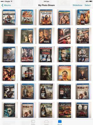 blu ray movies for $10 each-from amazon usa