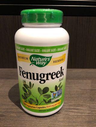 🚚 Fenugreek supplements
