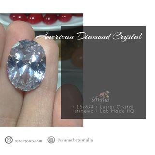 Batu Permata American Diamond Lab Made HQ
