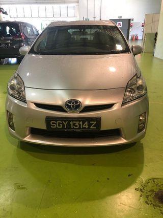Toyota prius rental