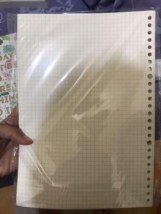 Loose Leaf B5 Grid (KOTAK-KOTAK)