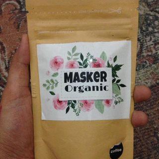 Masker organic cofee / masker organic kopi