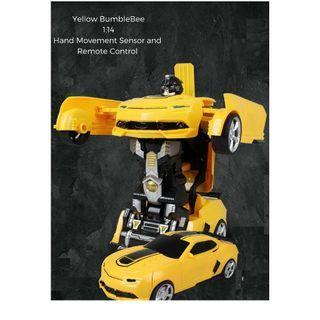 Bumblebee / Transformer/ Remote Control Car / Children Birthday Gift / Boy's Birthday Present