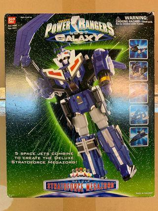 Power Rangers Lost Galaxy Stratoforce Megazord