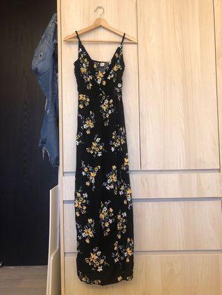 🚚 H&M 渡假風長洋裝