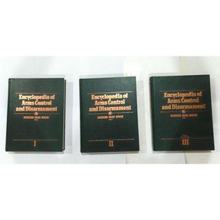 Buku Encyclopedia Of Arms Control And Disarmament Satu Set Tiga Buku Kontrol Senjata Dan Perlucutan Senjata 3 Jilid
