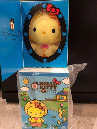 🚚 McDonald's duckling hello kitty
