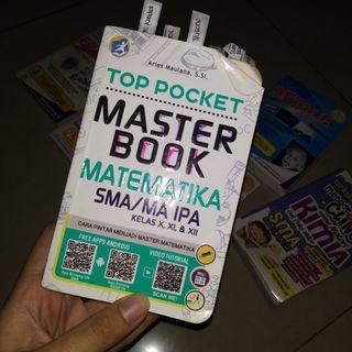 TOP POCKET MASTER BOOK MATEMATIKA