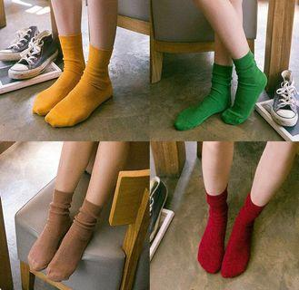 [PO] Soft socks in assorted colors