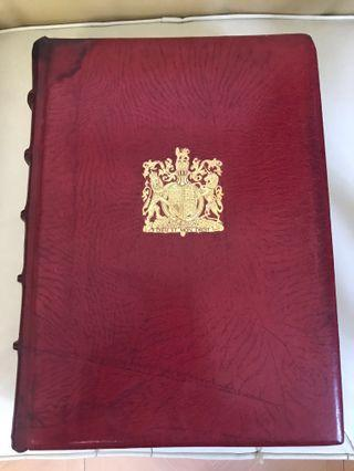 1952 Royal Philatelic Collection英國王室郵票收藏品豪華版