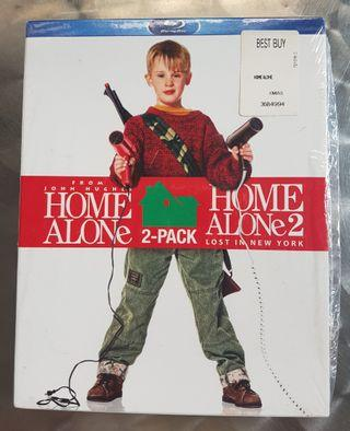Home Alone Blue Ray Combo