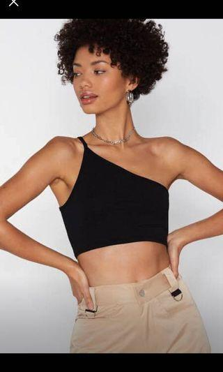 One shoulder crop