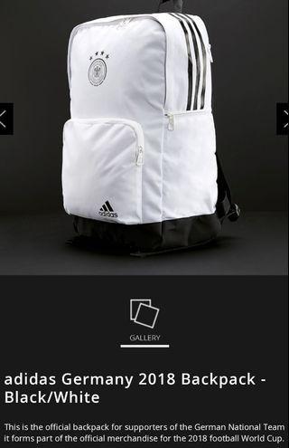 Adidas Germany Backpack white 2018