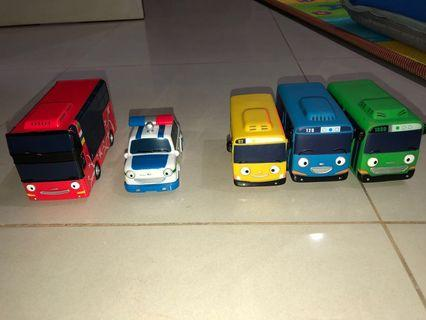 Sale of Pre-Owned the Little Bus Tayo and Friends Toys.