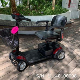 Pre-Owned Spitfire 4-Wheel Mobility Scooter c/w 6 mths WARRANTY