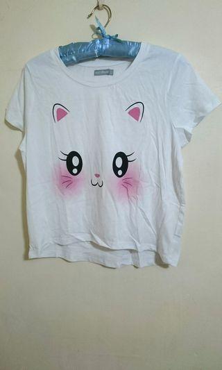 🚚 超Q貓臉T恤