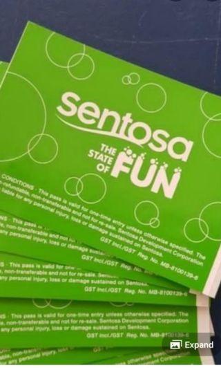 Sentosa Fun Pass Token