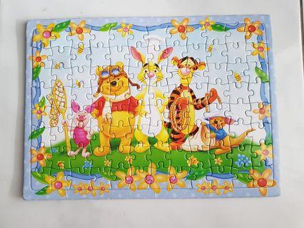 Pooh and friends Puzzle 96pcs