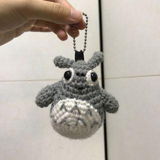 🚚 Totoro Soft Toy Crochet Keychain