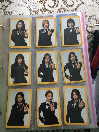 TWICE OFFICIAL PHOTOCARDS FOR SALE