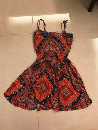 New silk Korean dress