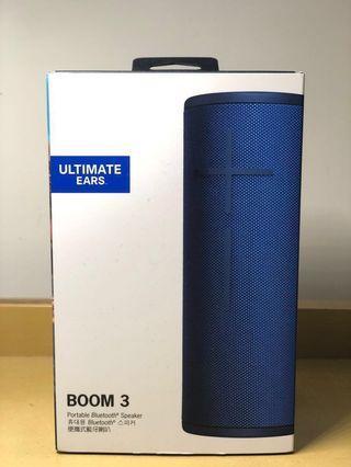 [全新] Ultimate Ears BOOM 3 無線藍芽喇叭 BOOM 3 Bluetooth Wireless Speaker