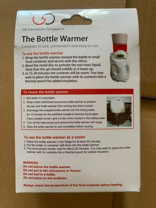 Portable bottle warmer (Gel form)