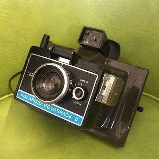 Vintage polaroid colour pack II land camera
