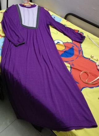 Jubah Purple Dresso