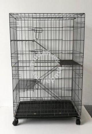 Sangkar Kucing / cat cage 3 tingkat