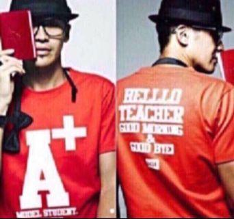 A+ Model student Printed-Tee