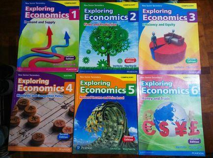 NSS Exploring Economics 1 - 6 (2nd Edition)